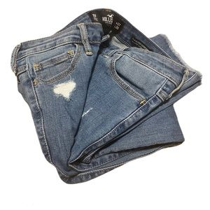 HOLLISTER skinny Jeans distressed size 5
